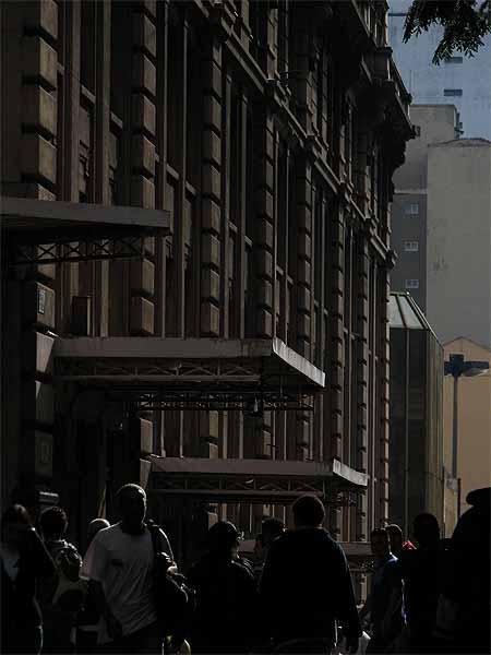 Lateral do Edifício Martinelli, em São Paulo
