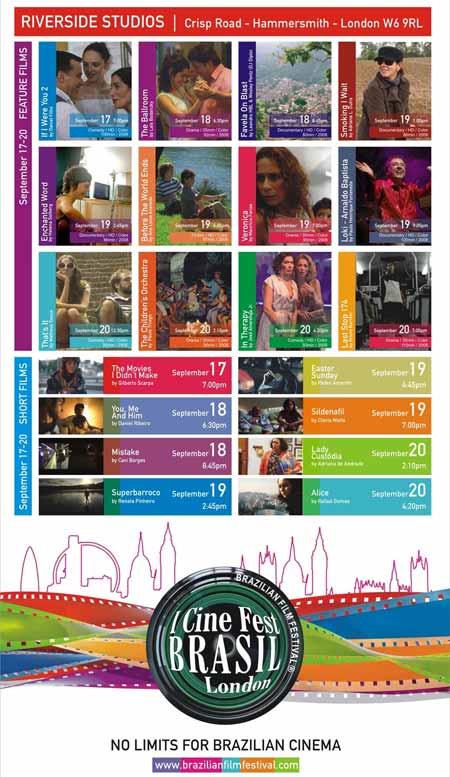 Primeiro Cine Fest Brasil em Londres