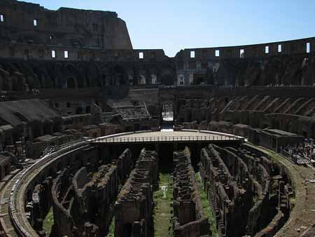 O impressionante Coliseu de Roma