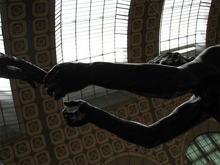 Obra de Camille Claudeu no Museu D'Orsay em Paris