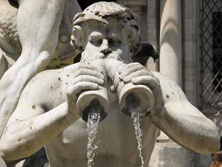 Obras de Bernini na Piazza Navona em Roma