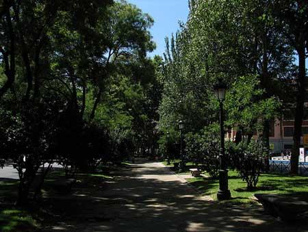 O Paseo do Prado em Madri