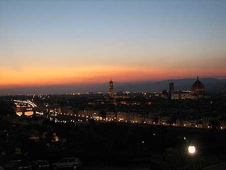 Vista da Piazzale Michelangelo em Firenze