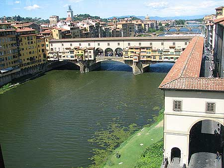 A Ponte Vecchio em Firenze
